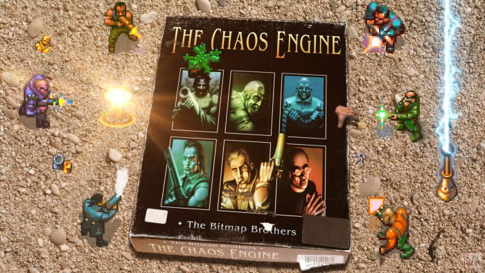 """""""The Chaos Engine"""" from The Bitmap Brothers"""