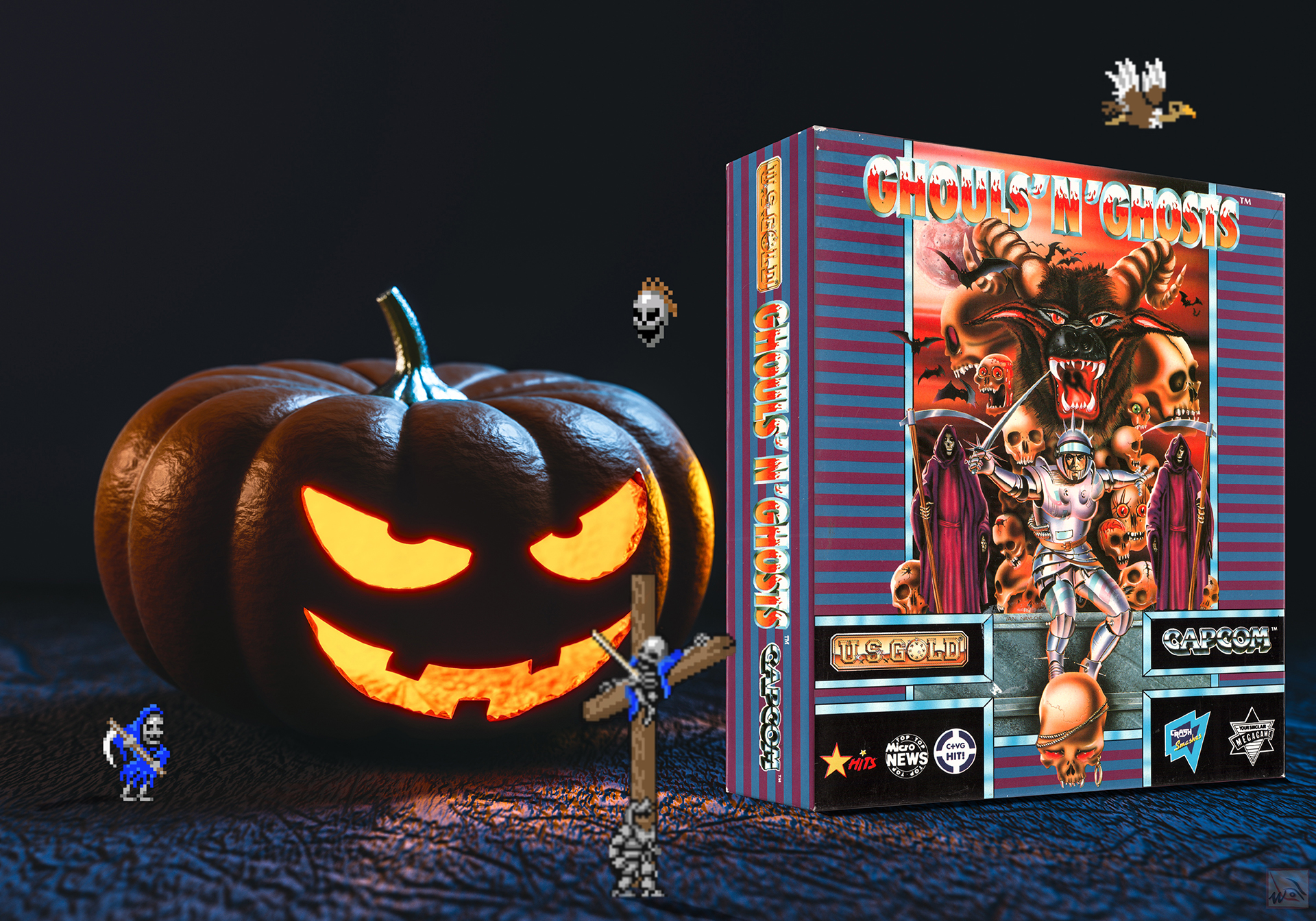 """""""Ghouls'n Ghosts"""" from Capcom"""