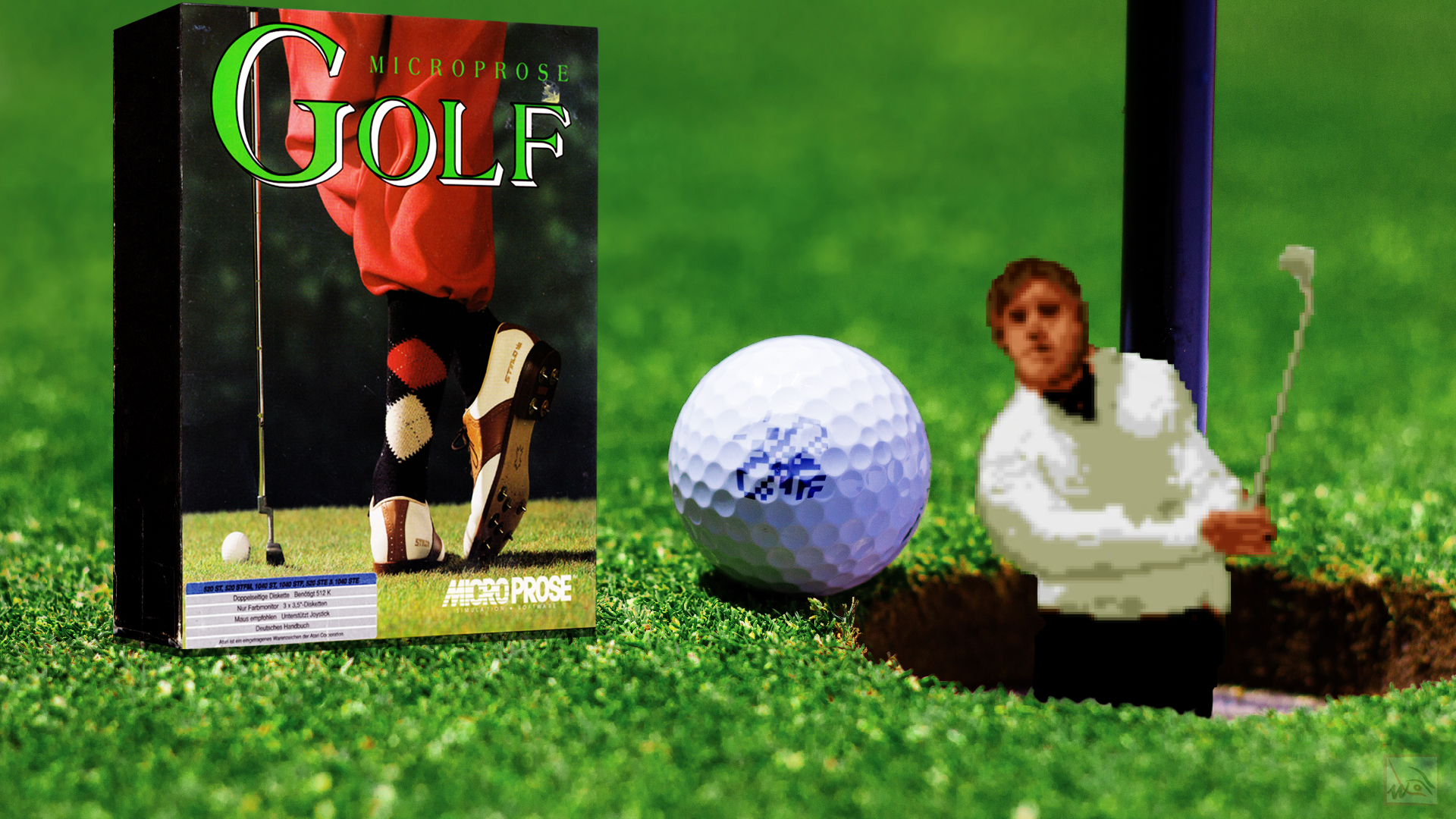 """""""Microprose Golf"""" from Microprose"""
