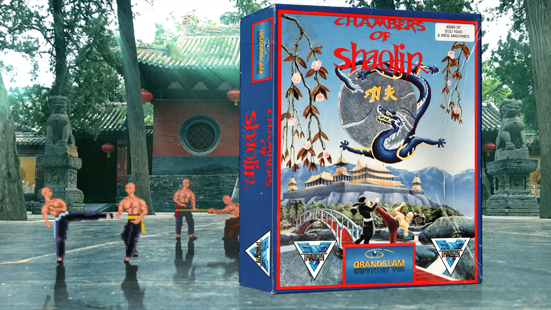 """""""Chambers of Shaolin"""" from Thalion."""
