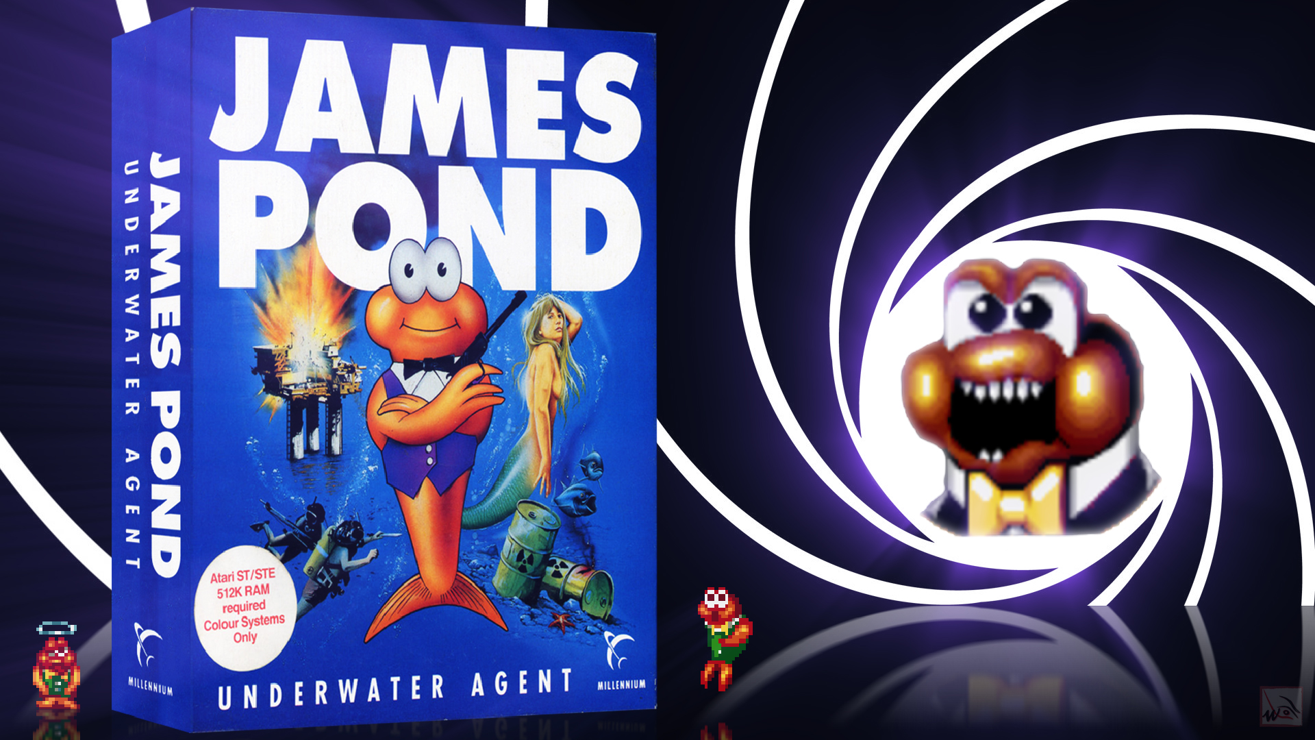 """""""James Pond"""" from Vectordean"""