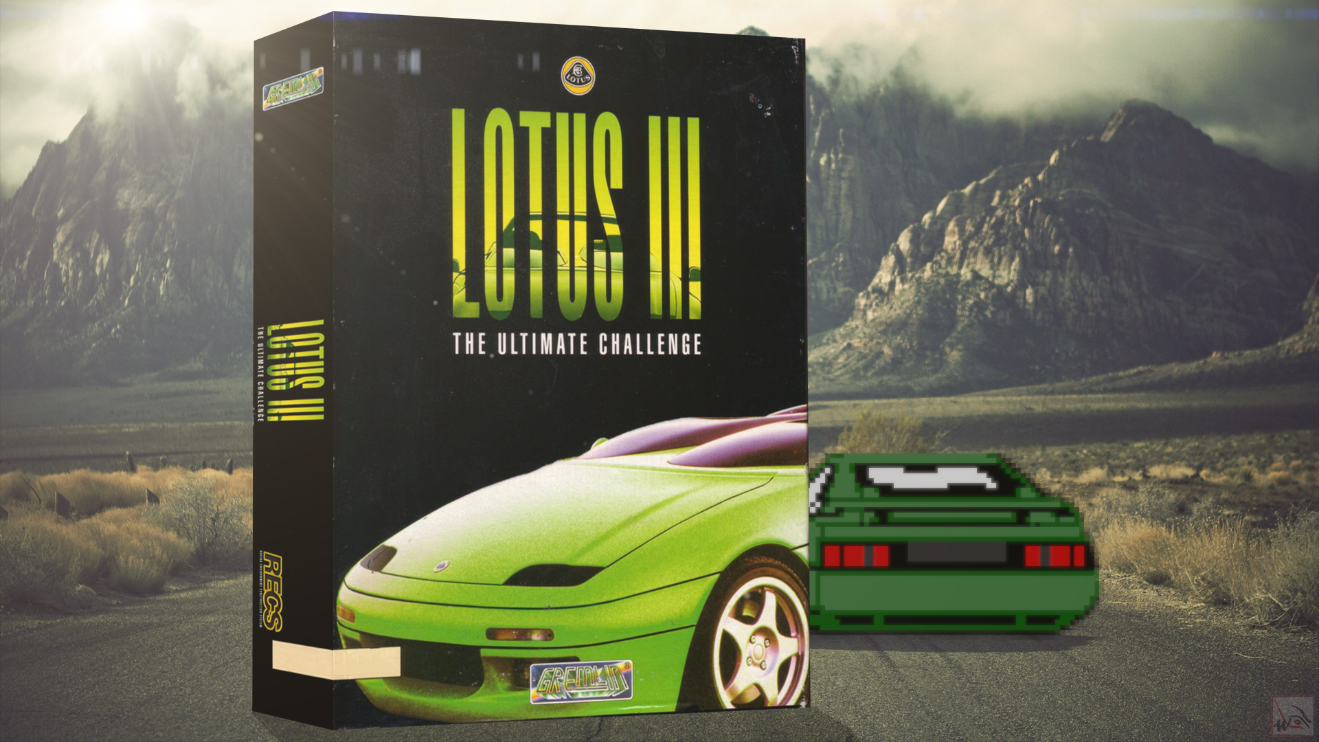 """""""Lotus III - The Ultimate Challenge"""" from Gremlin"""