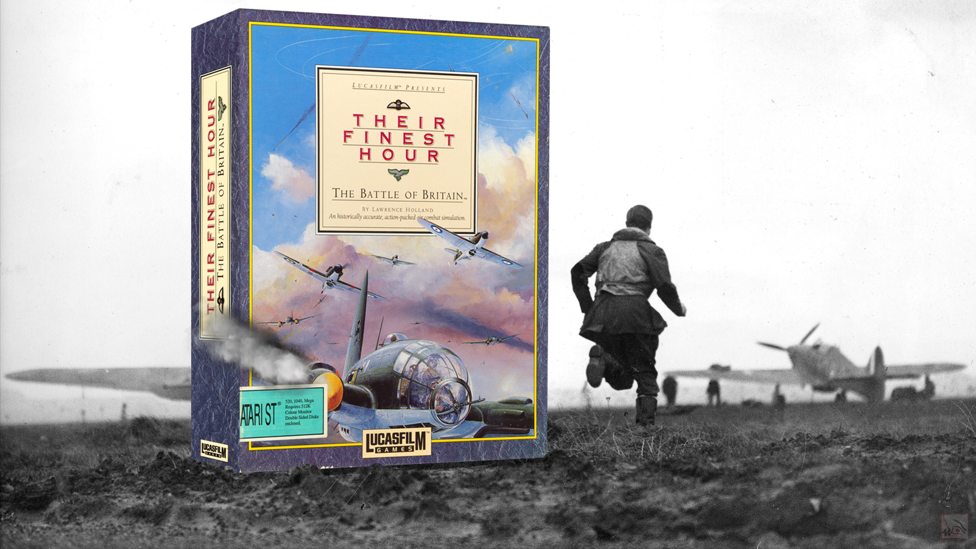 """""""Their finest hour - The Battle of Britain"""" from Lucasfilm Games 2"""