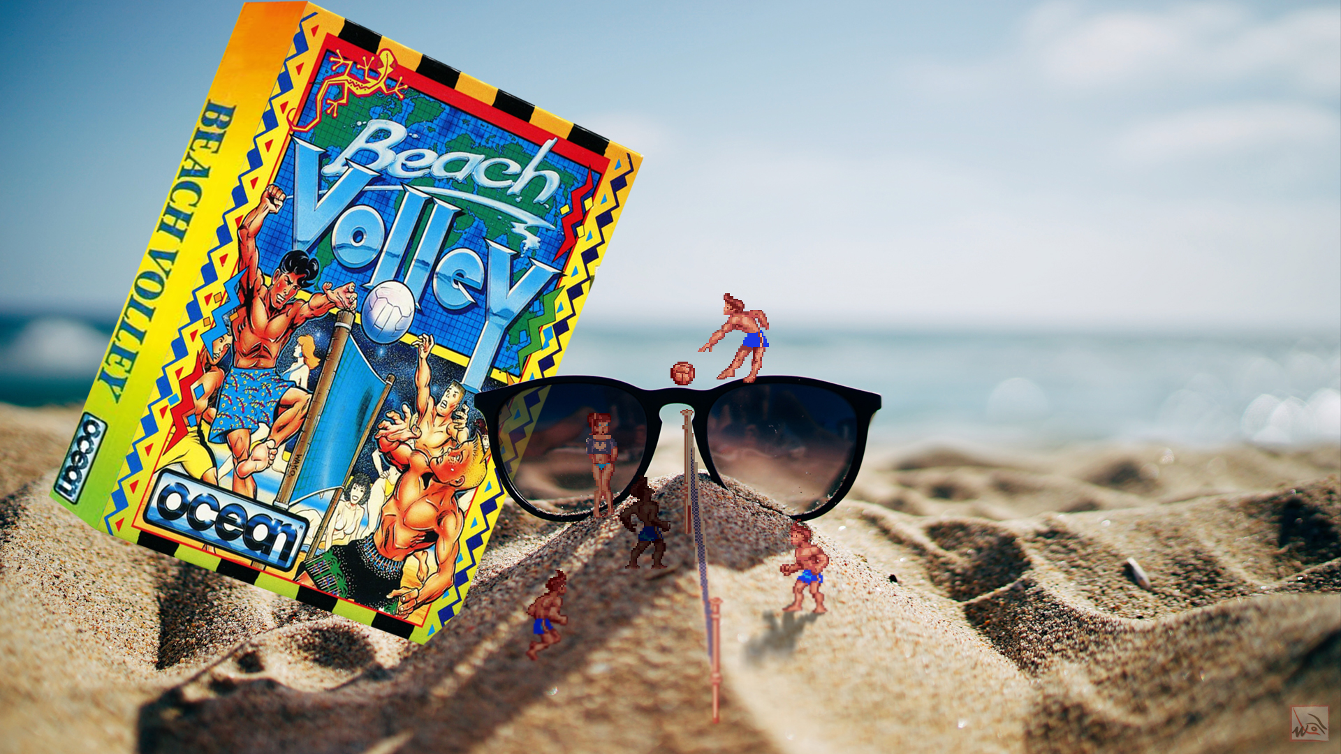 """""""Beach Volley"""" from Ocean Software"""