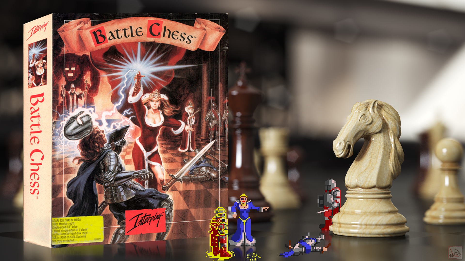 """""""Battle Chess"""" from Interplay"""