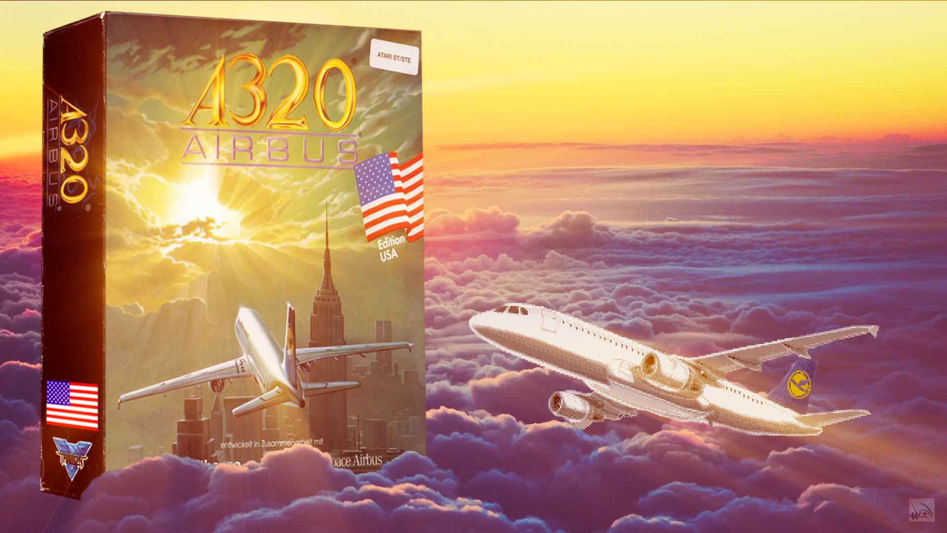 """""""A320 Airbus"""" from Thalion"""
