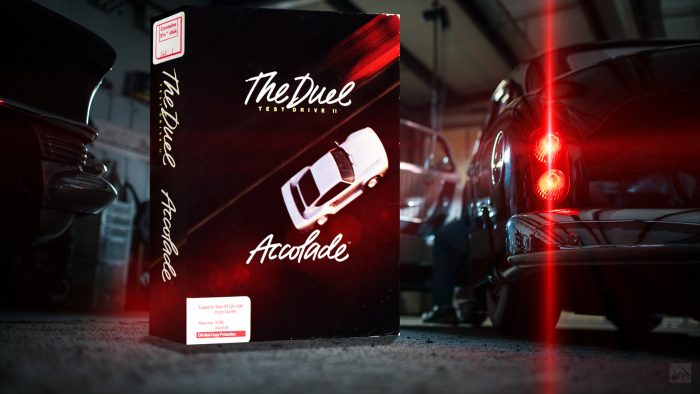"""""""Test Drive II - The Duel"""" from Accolade"""