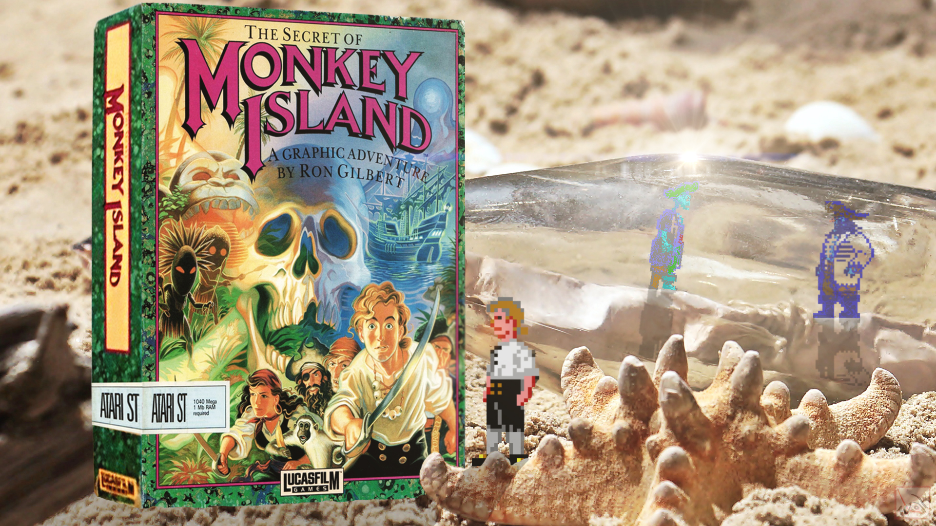 """""""Monkey Island"""" from Lucasfilm Games"""