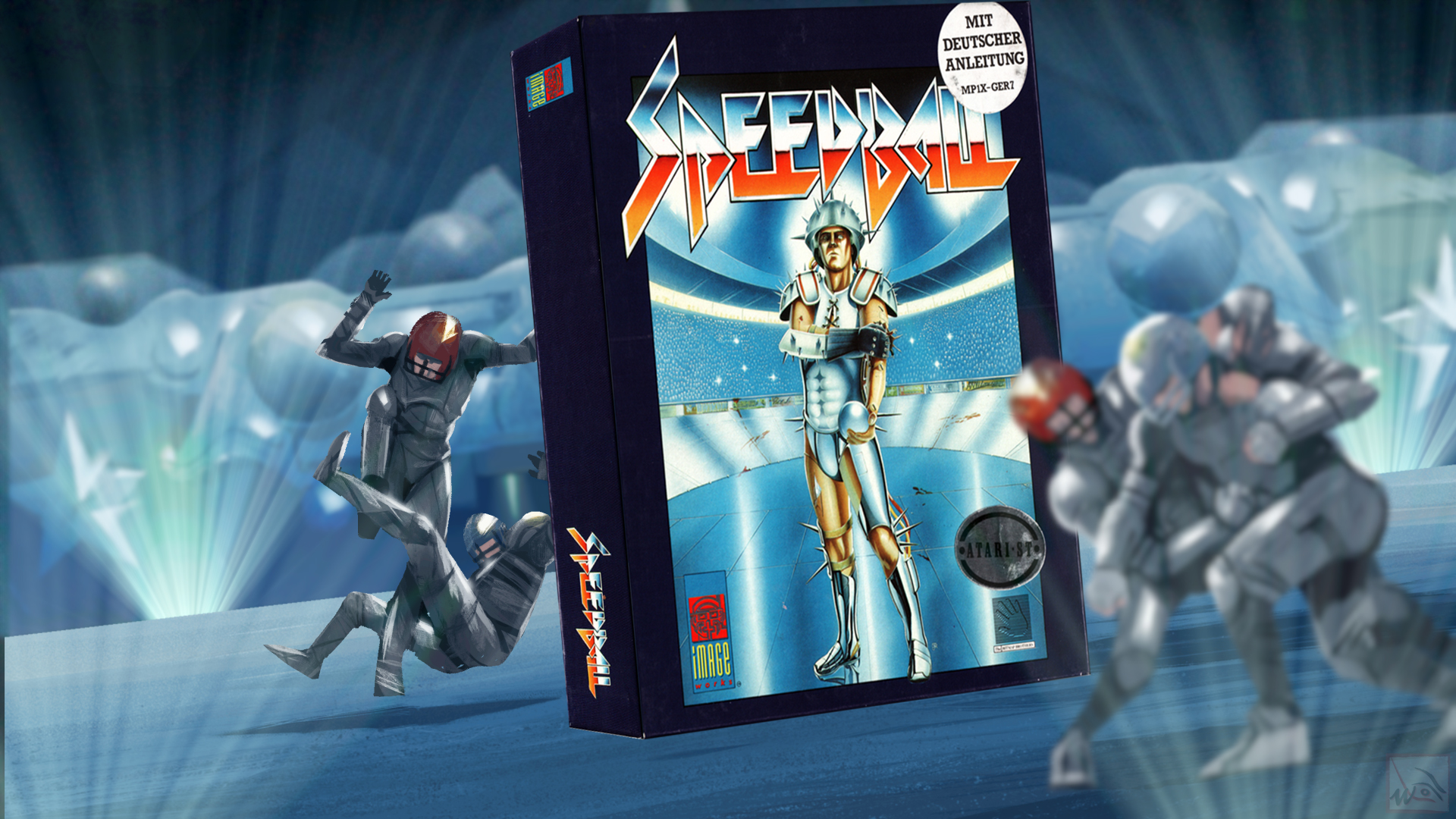 """""""Speedball"""" from Bitmap Brothers"""