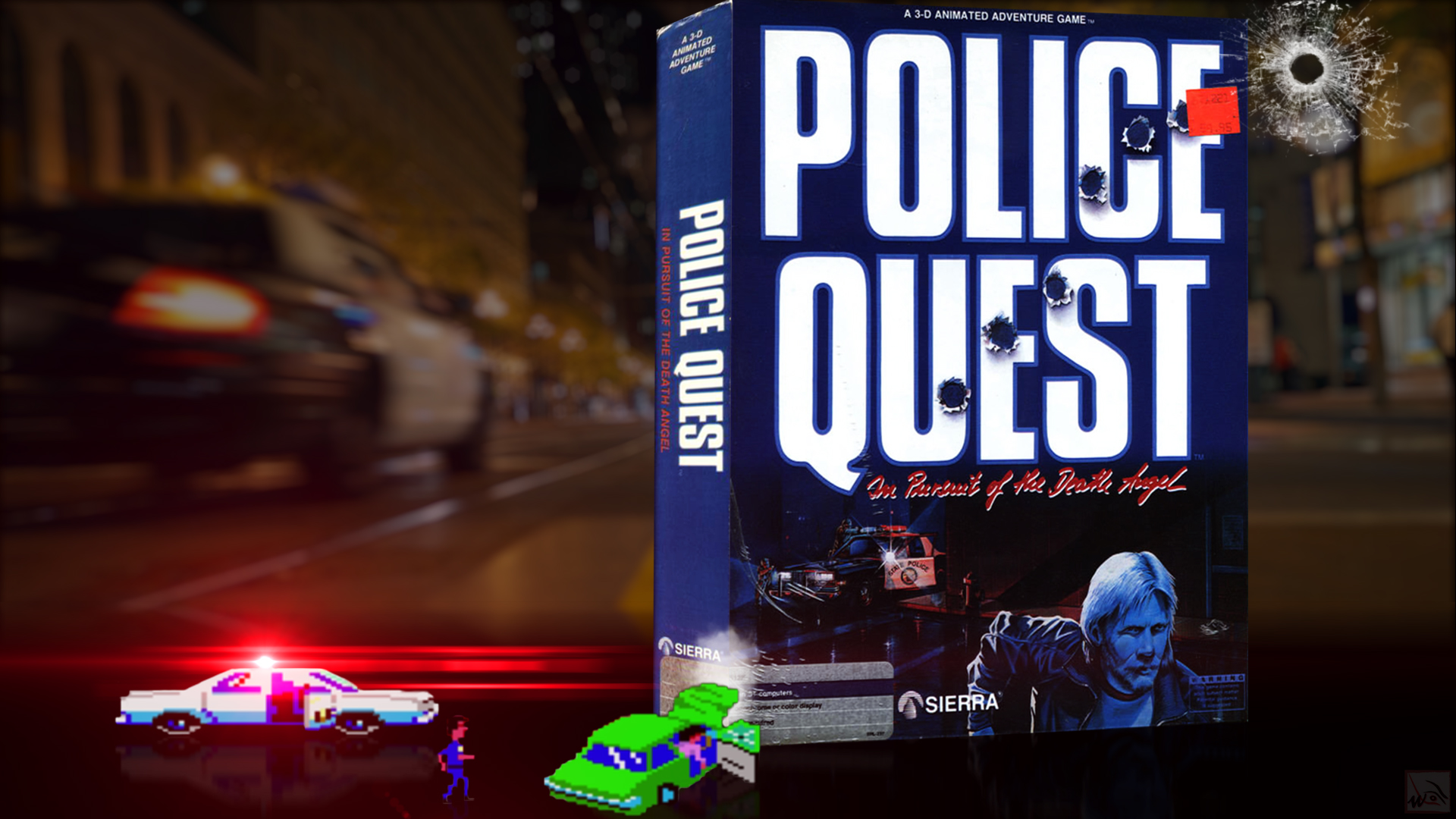 """""""Police Quest I"""" from Sierra"""