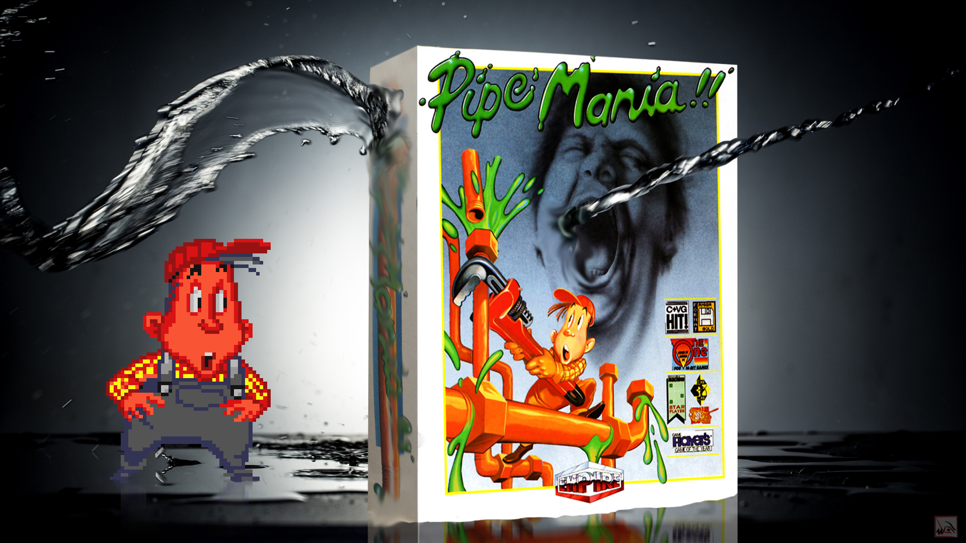 """""""Pipe Mania"""" from Empire Software"""