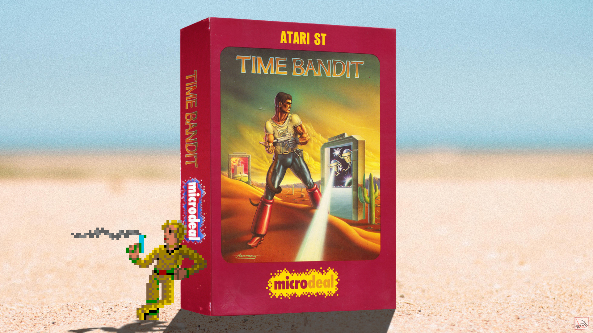 """""""Time bandit"""" from Microdeal"""